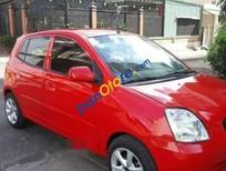 Xe Kia Morning năm sản xuất 2008, màu đỏ, nhập khẩu, giá chỉ 175 triệu