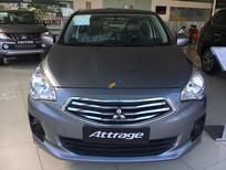 Cần bán xe Mitsubishi Attrage MT Eco năm 2019, màu xám, nhập khẩu nguyên chiếc, giá chỉ 375.5 triệu