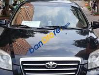 Bán xe Daewoo Gentra 1.5 MT 2010, màu đen, xe gia đình