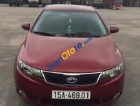 Cần bán xe Kia Forte sản xuất 2012, màu đỏ, 425 triệu