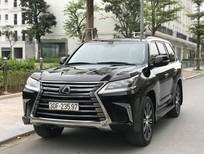 Bán xe Lexus LX 570 sản xuất 2018, màu đen, nhập mỹ, chính chủ đi 8000km