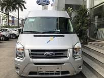 Bán xe Ford Transit SVP sản xuất 2019, màu bạc