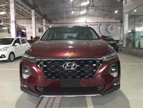 Bán Hyundai Santa Fe Premium năm sản xuất 2019, màu đỏ