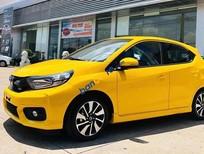 Bán Honda Brio sản xuất 2019, màu vàng, nhập khẩu