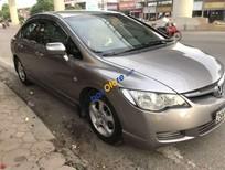 Cần bán xe Honda Civic năm sản xuất 2006, màu xám xe gia đình