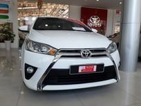 Cần bán Toyota Yaris 1.3G 2015, màu trắng, xe nhập Thái, giá thương lượng