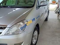 Bán ô tô Toyota Innova G sản xuất năm 2007, màu bạc, nhập khẩu nguyên chiếc
