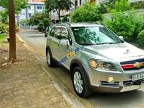 Cần bán lại xe Chevrolet Captiva năm 2009, màu bạc
