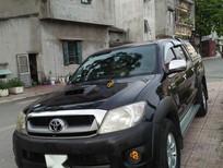 Bán Toyota Hilux đăng ký lần đầu 2009, màu đen, xe tư nhân chính chủ
