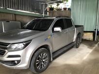 Bán Chevrolet Colorado LTZ sản xuất 2017, màu bạc, nhập khẩu nguyên chiếc số tự động, giá chỉ 635 triệu