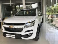 Bán ô tô Chevrolet Colorado LT sản xuất năm 2018, màu trắng, nhập khẩu
