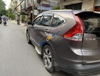Cần bán lại xe Honda CR V 2.4 năm sản xuất 2013, màu nâu, nhập khẩu