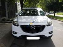 Bán Mazda CX9 AT màu trắng 2014, full đập thùng nhập Nhật, đi được 67 000 km
