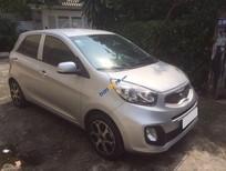 Cần bán xe Kia Morning 1.25AT sản xuất 2015, màu bạc số tự động