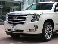 Cần bán Cadillac Escalade Premium 2015, màu trắng, đăng kí 2016, xe chất