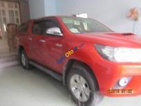 Bán Toyota Hilux 3.0G sản xuất năm 2016, màu đỏ, 650tr