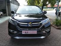 Cần bán lại xe Honda CR V 2.0 AT sản xuất 2015, màu đen giá cạnh tranh