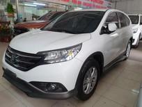 Cần bán xe Honda CR V 2.0AT năm sản xuất 2013, màu trắng, giá tốt