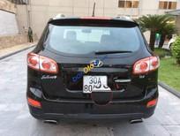 Bán ô tô Hyundai Santa Fe slx năm 2009, màu đen, nhập khẩu nguyên chiếc số tự động