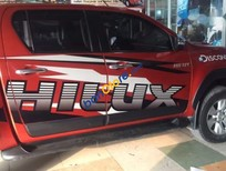 Bán Toyota Hilux 3.0G MT sản xuất 2016, màu đỏ, nhập khẩu