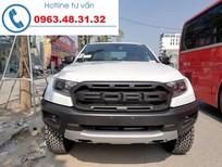 Bán xe Ford Ranger Raptor 2019, màu trắng, nhập khẩu Thái Lan, giao xe ngay