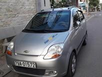 Xe Chevrolet Spark LTE sản xuất 2008, màu bạc, xe nhập xe gia đình