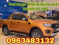 Bán xe Ford Ranger Wildtrak 2.0 Biturbo 4x4 AT mới 100%, nhập khẩu Thái Lan, giao xe ngay tại Vĩnh Phúc