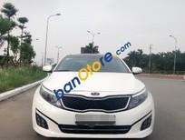 Cần bán lại xe Kia K5 2.0 AT sản xuất năm 2014, màu trắng