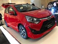 Bán Toyota Wigo G sản xuất 2019, màu đỏ, nhập khẩu, giá 365tr