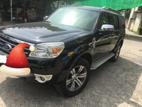 Cần bán Ford Everest năm sản xuất 2012, màu đen