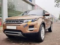 Bán ô tô LandRover Range Rover Evoque năm sản xuất 2014, màu vàng, nhập khẩu nguyên chiếc như mới