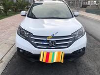 Cần bán lại xe Honda CR V 2.0AT sản xuất 2014, màu trắng