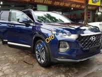 Bán xe Hyundai Santa Fe sản xuất năm 2019, màu xanh lam