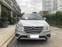 Cần bán gấp Toyota Innova SX 2015, màu bạc