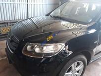 Bán gấp Hyundai Santa Fe 2009, màu đen, xe đẹp