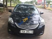 Bán ô tô Toyota Vios E năm 2009, màu đen