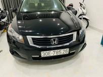 Cần bán Honda Accord 2007, màu đen ĐKLD 2009
