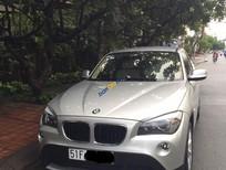 Bán ô tô BMW X1 năm sản xuất 2010, màu bạc