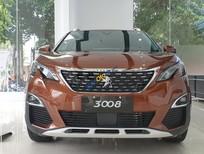 Bán Peugeot 3008 năm sản xuất 2019, màu nâu