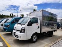Bán xe tải nhẹ Kia K200 2019 thùng kín có cửa hông, giá 335tr, tải trọng 990kg, 1490kg, 1900kg, hỗ trợ trả góp 70%