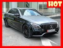 Bán xe Mercedes C300 AMG đen/đỏ đời 2018 lướt. Trả trước 650 triệu nhận xe ngay