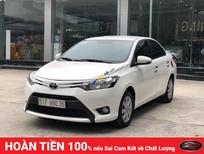 Cần bán xe cũ Toyota Vios E 1.5 MT 2016, màu trắng