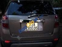 Cần bán gấp Chevrolet Captiva sản xuất 2008, màu bạc