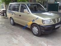 Bán Mitsubishi Jolie 2003, màu vàng cát, mọi chức năng vẫn hoạt động bình thường, bảo dưỡng định kì