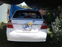 Bán Daewoo Gentra sản xuất năm 2009, màu trắng, nhập khẩu