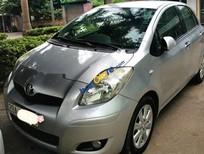 Bán Toyota Yaris đời 2010, màu bạc, nhập khẩu, mới làm gói bảo dưỡng lớn
