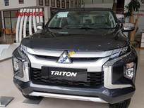 Bán Mitsubishi Triton 2.4 sản xuất 2019, màu xám, Nhập khẩu Thái Lan, 730tr