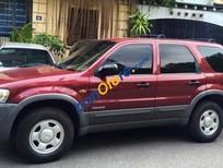 Bán Ford Escape 2.0 sản xuất 2004, màu đỏ, nhập khẩu nguyên chiếc chính chủ, giá chỉ 230 triệu