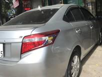 Bán ô tô Toyota Vios E sản xuất 2017, màu bạc số sàn