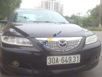 Cần bán lại xe Mazda 6 năm sản xuất 2003, màu đen xe gia đình